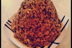 Вкусные рецепты: Хлеб с начинкой, Раки на яблочно-авокадовом карпаччо, Яйца ,запечённые с креветками.