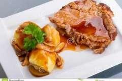 Вкусные рецепты: Слоёные трубочки с кремом, Венский пирог с вишней, Пирог с орехами,бананом и шоколадом